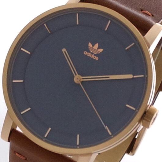 アディダス ADIDAS 腕時計 メンズ Z082919 クォーツ グレー ブラウン CJ6335