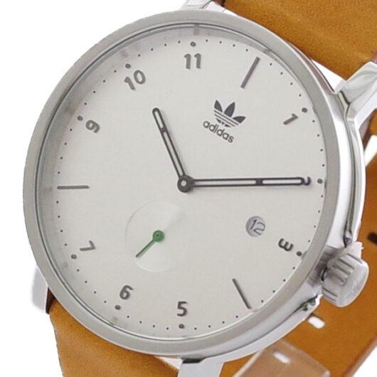 アディダス ADIDAS 腕時計 メンズ Z123039 CK3130クォーツ シルバー ブラウン