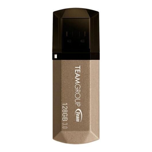 【送料無料】Team USB3.0 128GB 型番 TC1553128GD01 フラッシュメモリー キャップ型 Color Series C155 保証1年