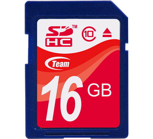 【送料無料】Team 16GB 型番 TG016G0SD28X SDHC Card SDメモリカード Class10 10年保証