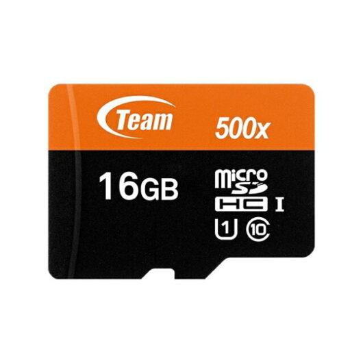Team MicroSD SDHC カード 16GB 型番 TUSDH16GUHS03 UHS-1 Class10 SDカード変換アダプタ付き 10年保証
