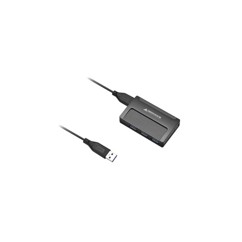 GREENHOUSE USB3.0対応の4ポートUSBハブ GH-UH304AK