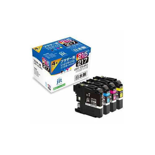JIT 互換プリンターインク 4色セット JIT-B2172154P