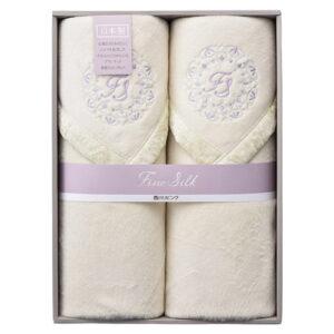 ファインシルク シルク毛布(毛羽部分)2枚セット K91301415