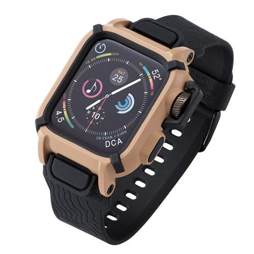エレコム Apple Watch 44mm NESTOUTバンドケース カーキ AW-44BCNESTKH