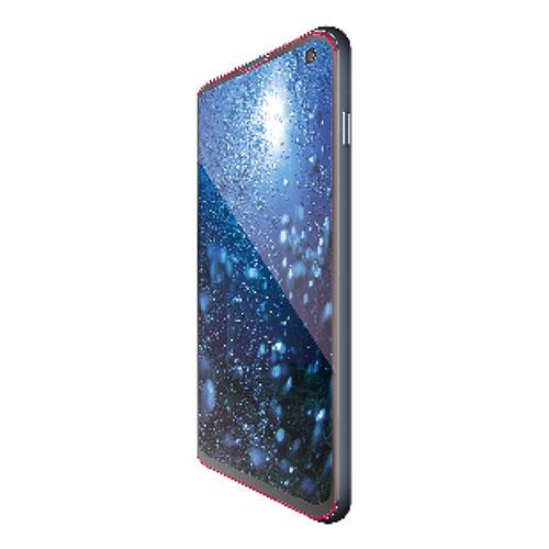 エレコム Galaxy S10 フルカバーガラスフィルム 0.33mm ブラック PM-GS10FLGGRBK
