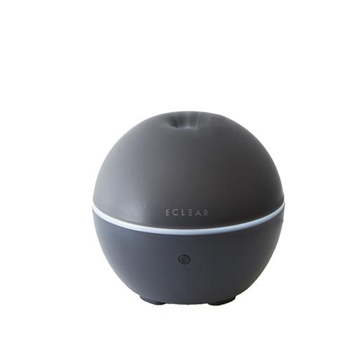 エレコム エクリアミスト USB給電 抗菌加湿器 丸型 HCE-HU1901Uシリーズ ブラック HCE-HU1901UBK
