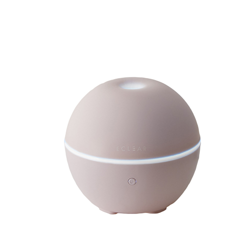 エレコム エクリアミスト USB給電 抗菌加湿器 丸型 HCE-HU1901Uシリーズ ピンク HCE-HU1901UPN