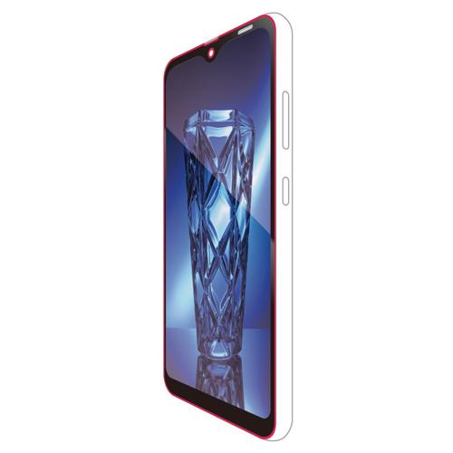 エレコム Galaxy A20/フルカバーガラスフィルム/ブルーライトカット/0.33mm/ブラック PM-A20FLGGBLB