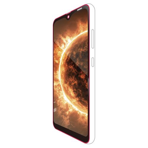 エレコム Galaxy A20/フルカバーガラスフィルム/3次強化/ブラック PM-A20FLGTRBK
