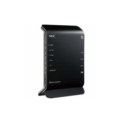 NEC 11ac対応 867+300Mbps 無線LANルータ(親機単体) PA-WG1200HP3