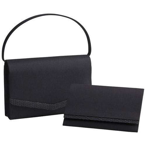 「絹印伝」使い日本製フォーマルバッグ(袱紗付) K90911714