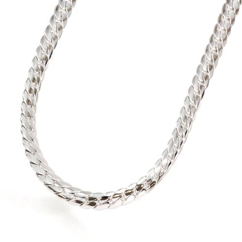 CrazyAngel メンズ レディース ネックレス 喜平 ゲルマニウム ゲルマ ダイヤモンド ダイヤ ヘリンボーン シルバー ユリ cag-101-r50