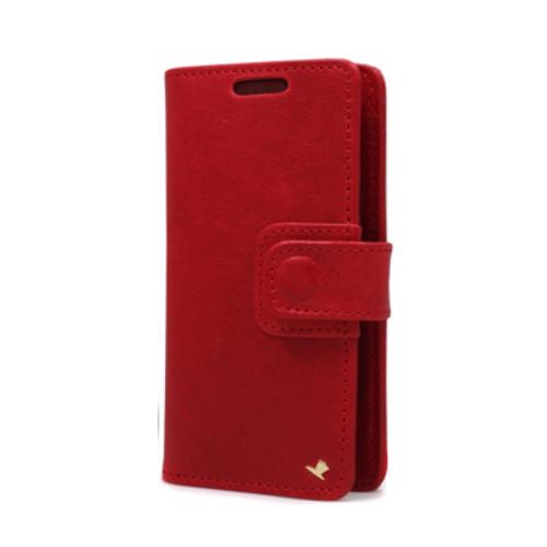 AEJEX 高級羊革スマートフォン用ケース D3シリーズ RED AS-AJD3-RD