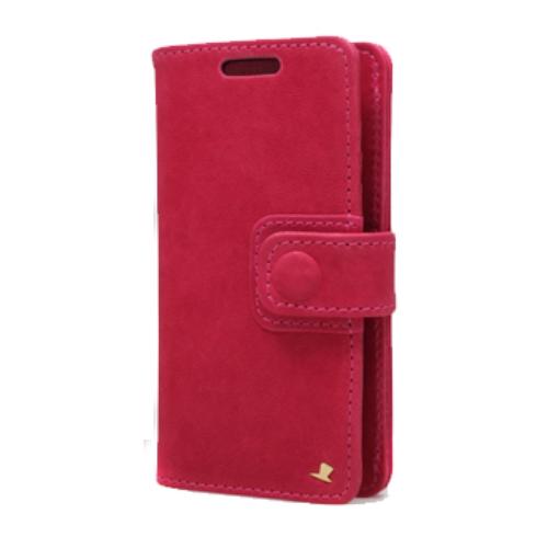 AEJEX 高級羊革スマートフォン用ケース D4シリーズ PINK AS-AJD4-PK