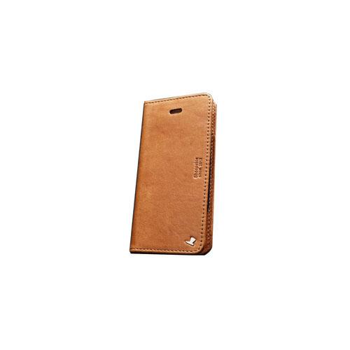 AEJEX iPhone5用ケース FLIPタイプ ブラウン AS-AJIP5F-BW
