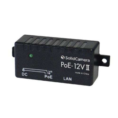 ソリッドカメラ Viewla専用PoE給電アダプタ PoE-12VII POE-12V2