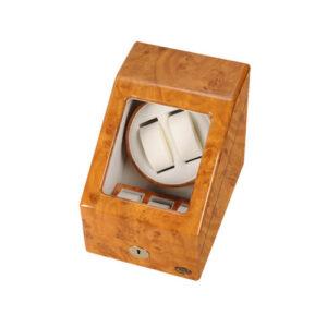 ローテンシュラガー 木製2連ワインディングマシーン LU20001RW