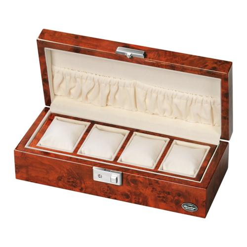 ローテンシュラガー 木製時計4本収納ケース LU51005RD