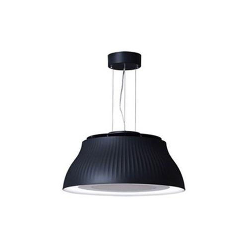 富士工業 LED照明付き換気扇 「クーキレイ」 ブラック C-PT511-BK