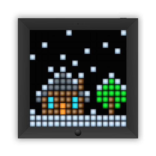 Divoom ピクセルアートフレーム Pixoo-BLACK PIXOO_BLACK