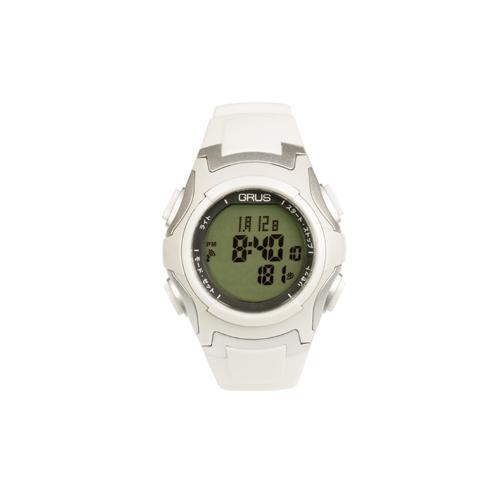 GRUS 腕時計 電波 ウォーキングウォッチ ペースキーパー機能付 GRS005-02