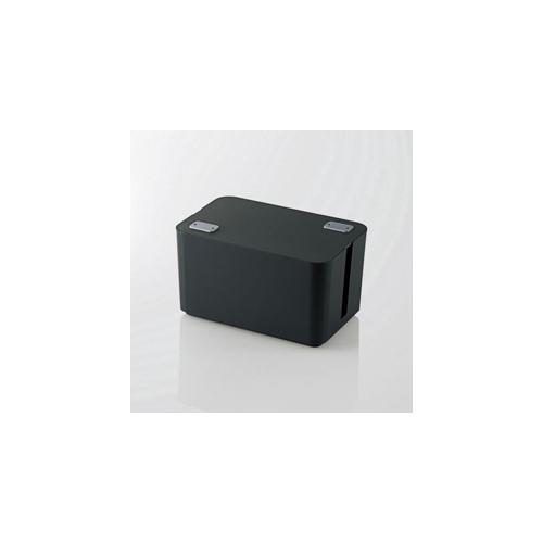 5個セット エレコム ケーブルボックス(4個口) EKC-BOX002BKX5