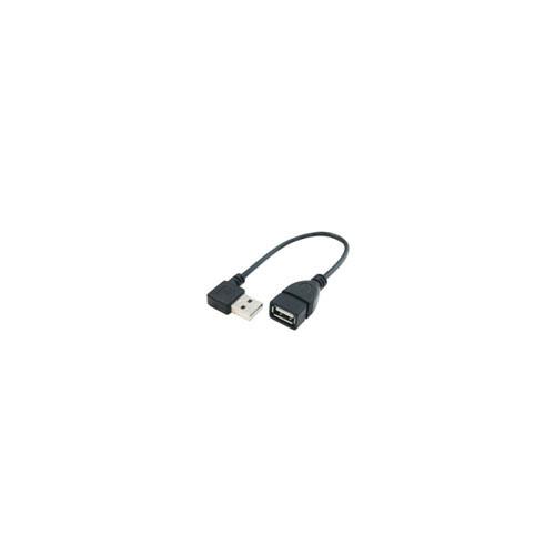 10個セット 変換名人 USB Atype下L20cm延長 黒 USBA-CA20DL/BKX10