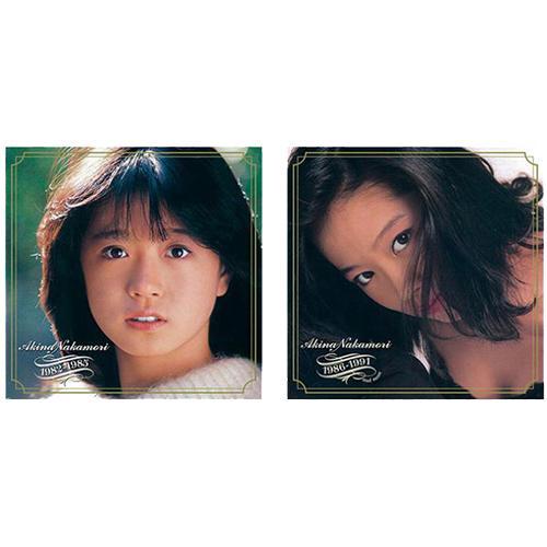 中森明菜1982-1985/1986-1991セット