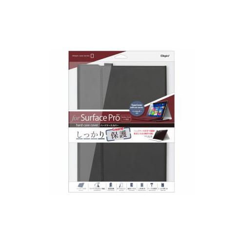 ナカバヤシ SurfacePro用ハードケースカバー ブラック TBC-SFP1707BK