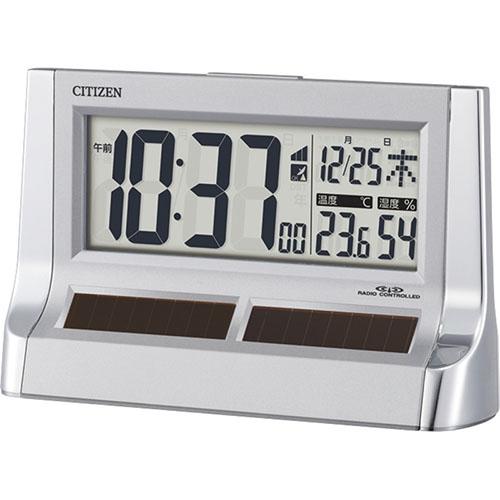 ソーラーパワーアシスト電波アラーム時計 C1062075