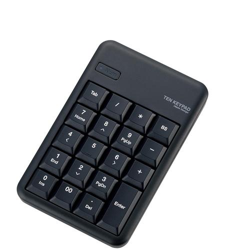 エレコム Bluetooth(R)ワイヤレステンキーパッド TK-TBM016BK