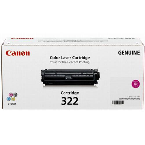 CANON 【純正】トナーカートリッジ322 マゼンタ CRG-322MAG