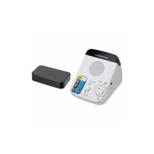 Audio-Technica オーディオテクニカ AT-SP450TV TV用赤外線コードレススピーカー リモコン機能付き