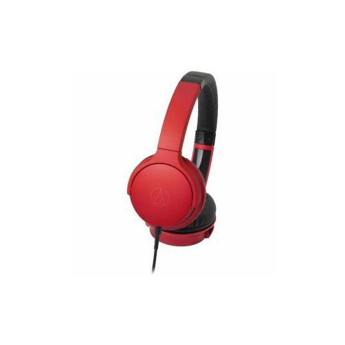 Audio-Technica オーディオテクニカ ATH-AR3-RD ダイナミック密閉型ヘッドホン(レッド)