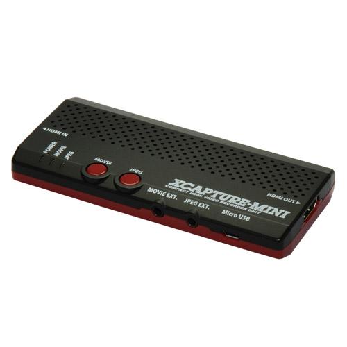 マイコンソフト SDメモリーカード対応PCレス 小型キャプチャー・ユニット XCAPTURE-MINI  DP3913544 DP3913544