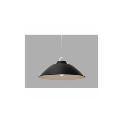 アイリスオーヤマ LEDペンダントライト LED電球セット Gammel Plas ホーロー調 Mサイズ ブラック PL8LE26PE1B