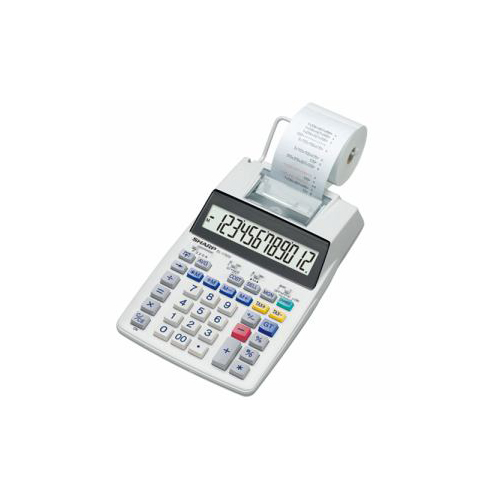 SHARP EL-1750V プリンタ電卓(セミデスクトップタイプ)
