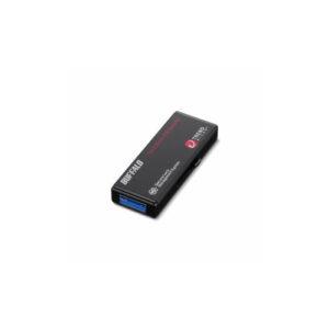 BUFFALO バッファロー ハードウェア暗号化機能搭載 管理ツール対応 USB3.0対応 セキュリティーUSBメモリー ウイルスチェックモデル 64GB RUF3-HS64GTV5