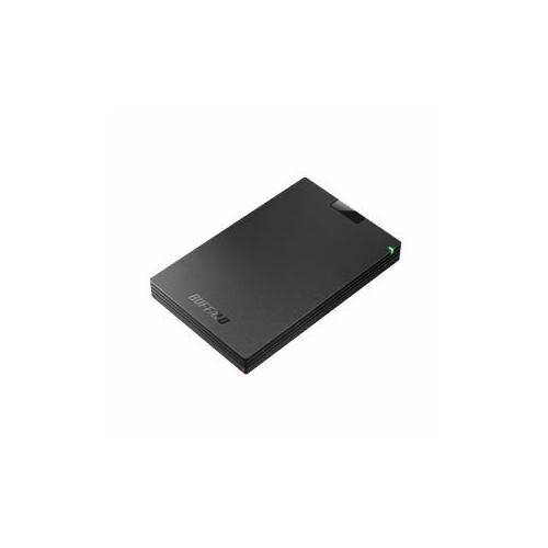 BUFFALO バッファロー ミニステーション USB3.1(Gen1)/USB3.0 ポータブルHDD 1TB ブラック HD-PCG1.0U3-BBA