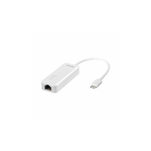 BUFFALO Giga対応 Type-C USB3.1(Gen1)用LANアダプター ホワイト LUA4-U3-CGTE-WH