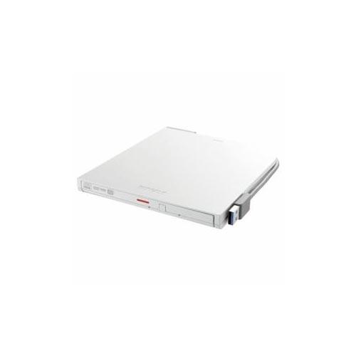 BUFFALO DVDドライブ ホワイト DVSM-PTV8U3-WHA