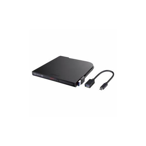 BUFFALO DVDドライブ ブラック DVSM-PTCV8U3-BKA