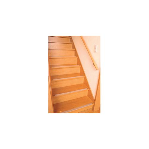 ソーゴ 透明タイプ階段の滑り止め 14本組 803313