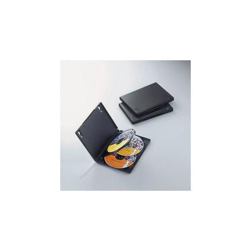 エレコム DVDトールケース CCD-DVD08BK