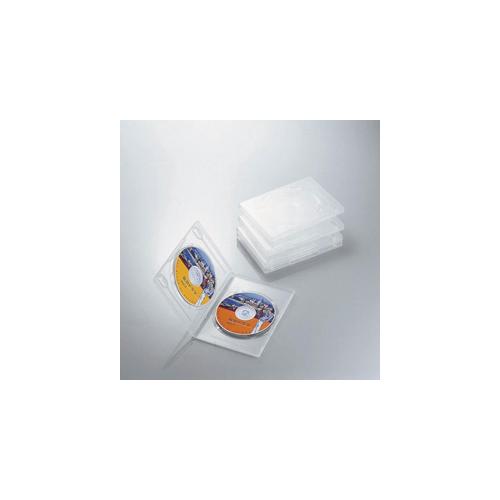 エレコム DVDトールケース CCD-DVD05CR