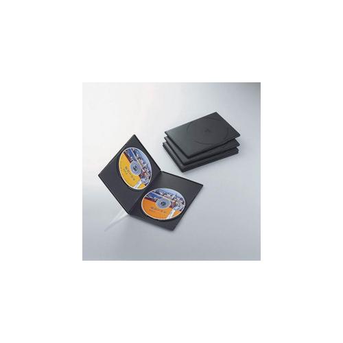 エレコム スリムDVDトールケース CCD-DVDS05BK