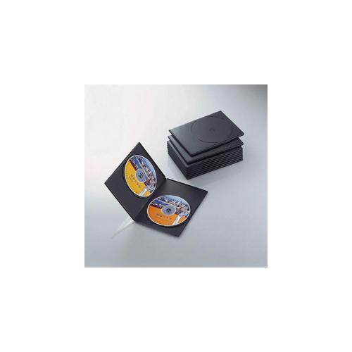 エレコム スリムDVDトールケース CCD-DVDS06BK