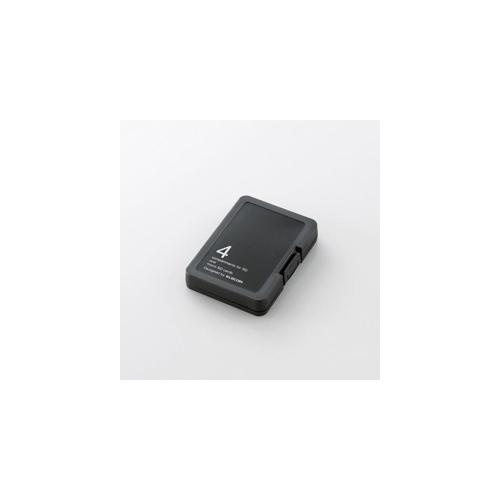 エレコム SD/microSDメモリカードケース CMC-SDCPPBK