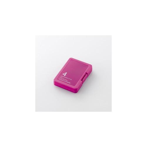 エレコム SD/microSDメモリカードケース CMC-SDCPPPN